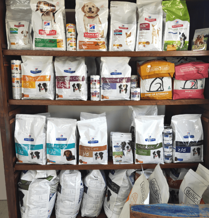 Pet Food at Vets